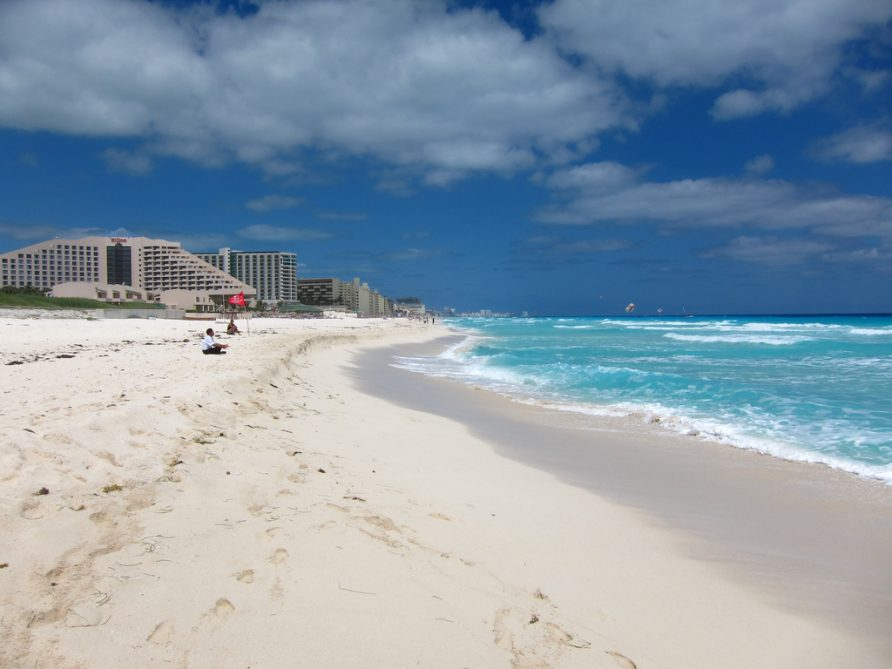Enjoy a wonderful sunny day on the best beaches in Mexico.