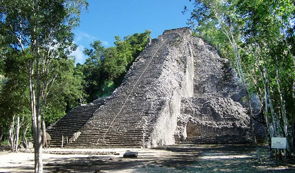 Coba, archeology in the middle of the jungle